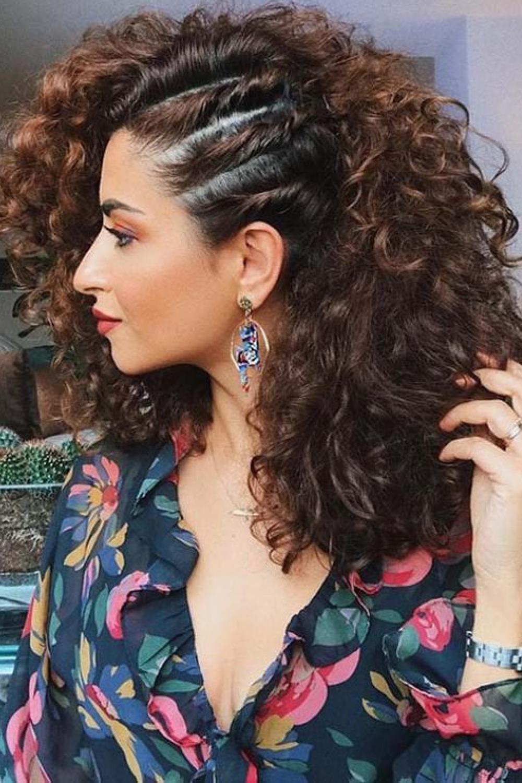 Más inspirador peinados pelo rizado largo faciles Galeria De Cortes De Pelo Tendencias - Peinados pelo rizado: los más bonitos del verano