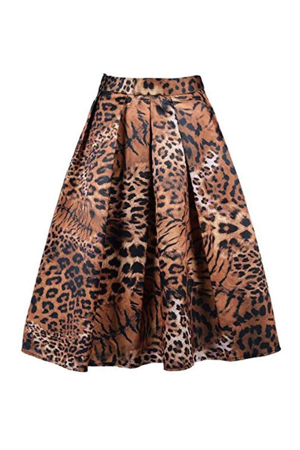 falda leopardo amazon Charles Richards, 20€ aprox.
