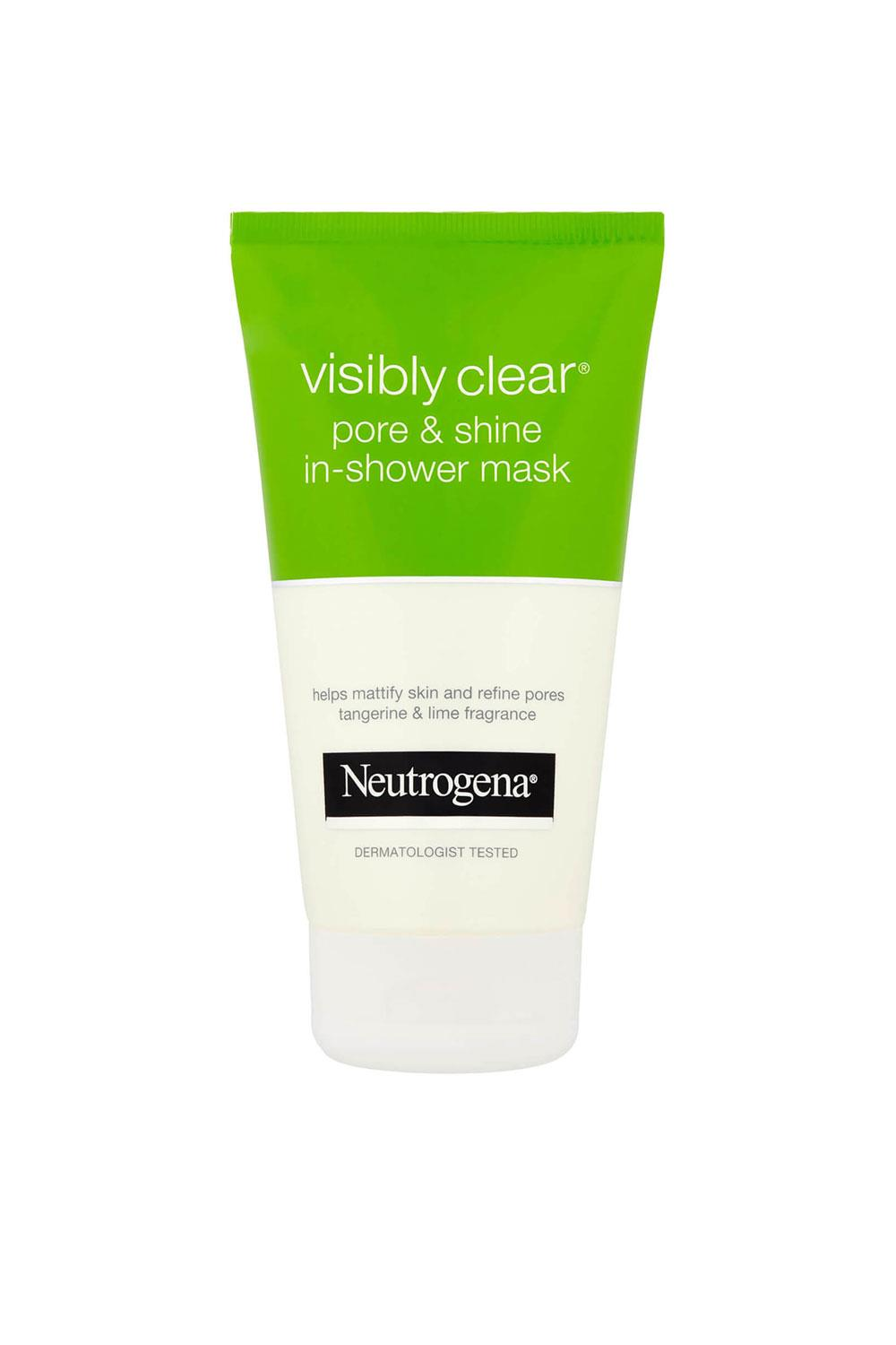 mascarillas para la cara Mascarilla Pore and Shine Visibly Clear de Neutrogena, 5,95€