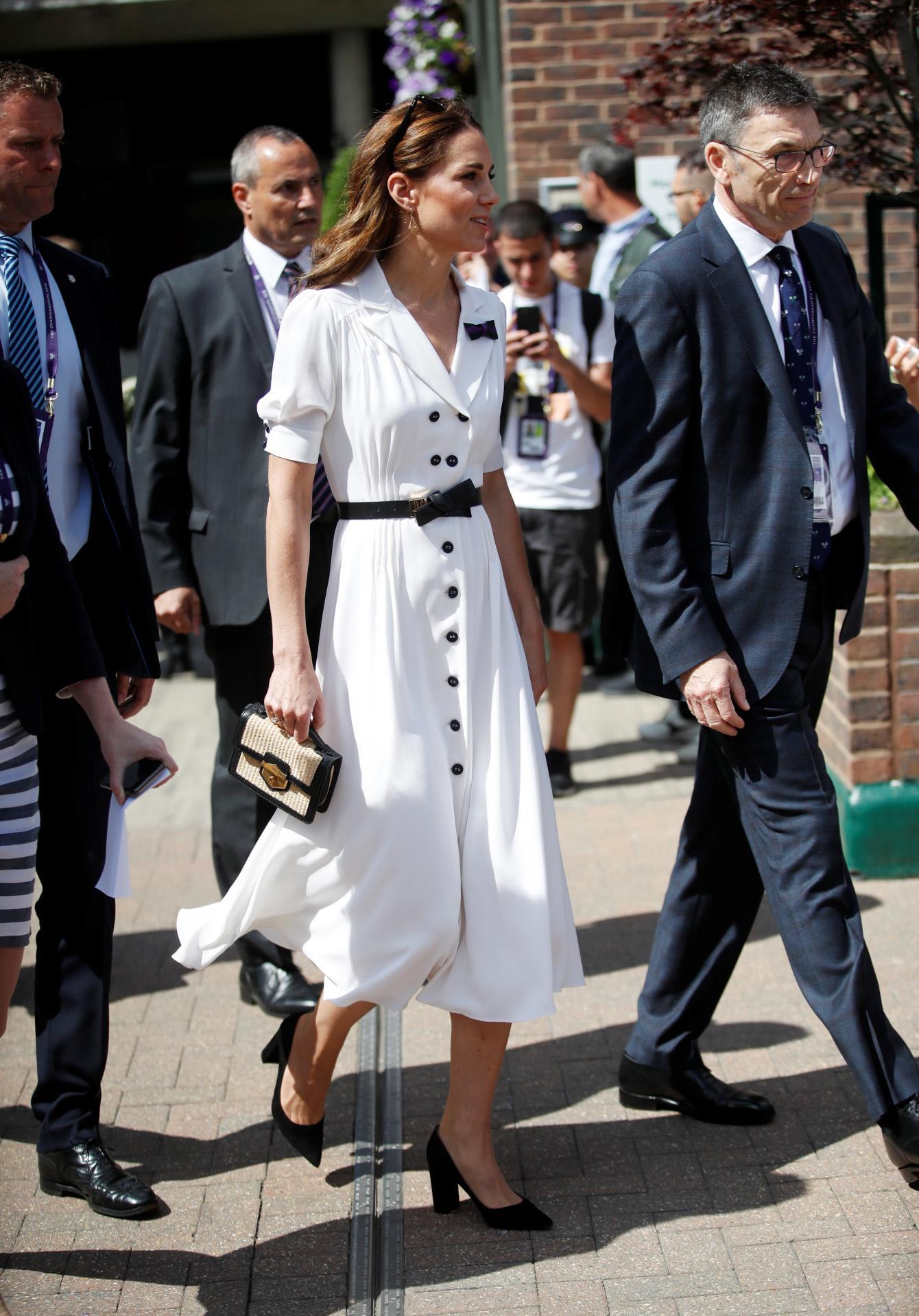 Vestido Blanco De Kate Middleton Ha Sido Copiado Por Las
