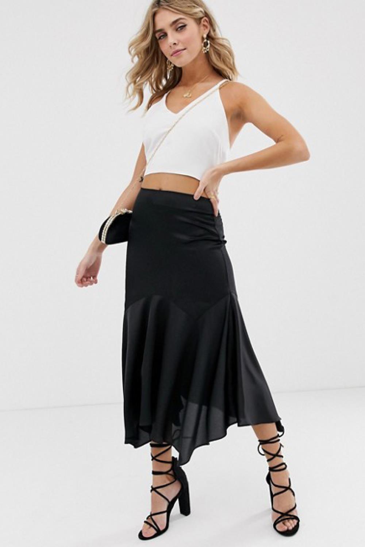 997dd69a4 Las faldas de moda para este verano 2019 ¡están de rebajas!
