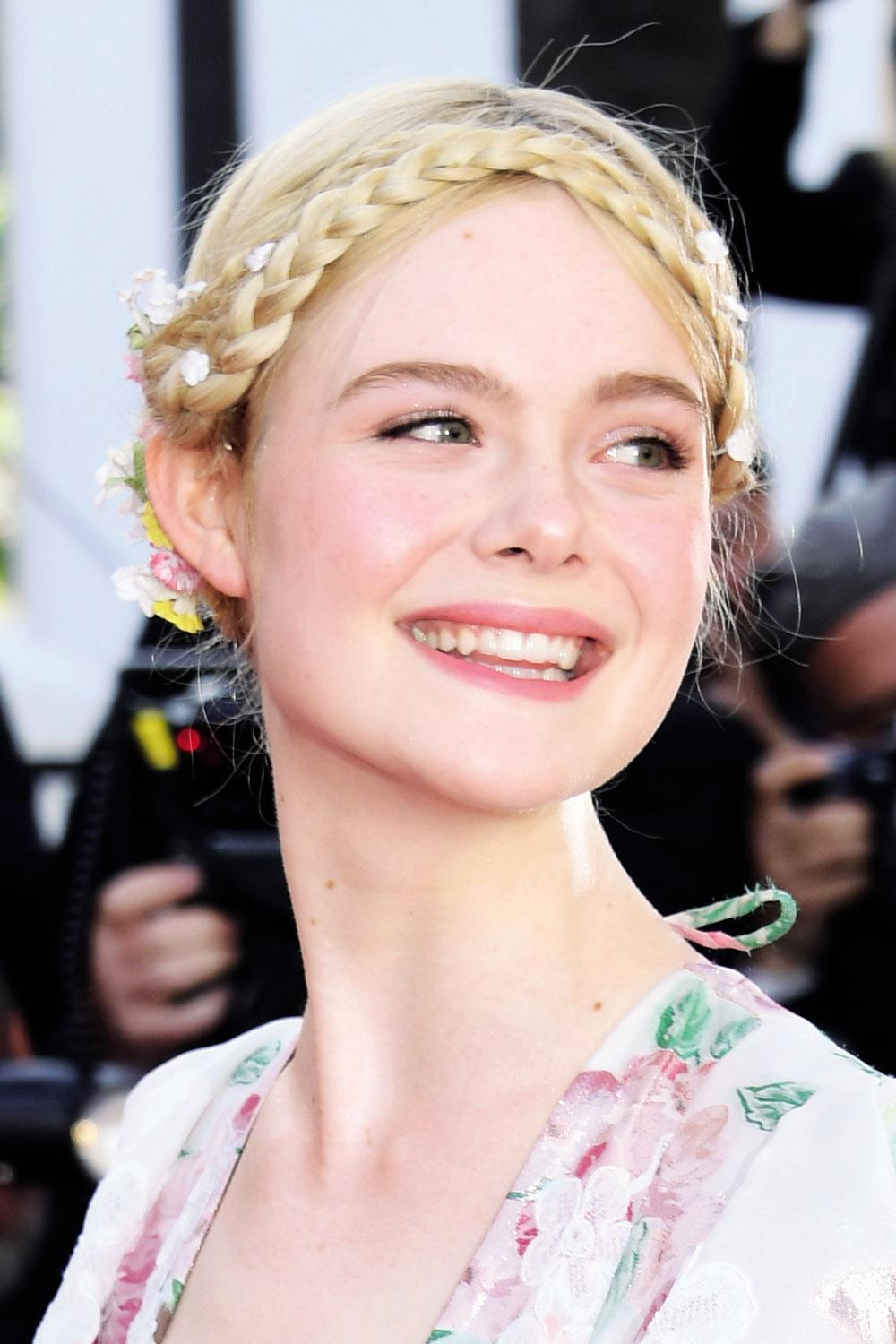 pelo celebrities Elle Fanning