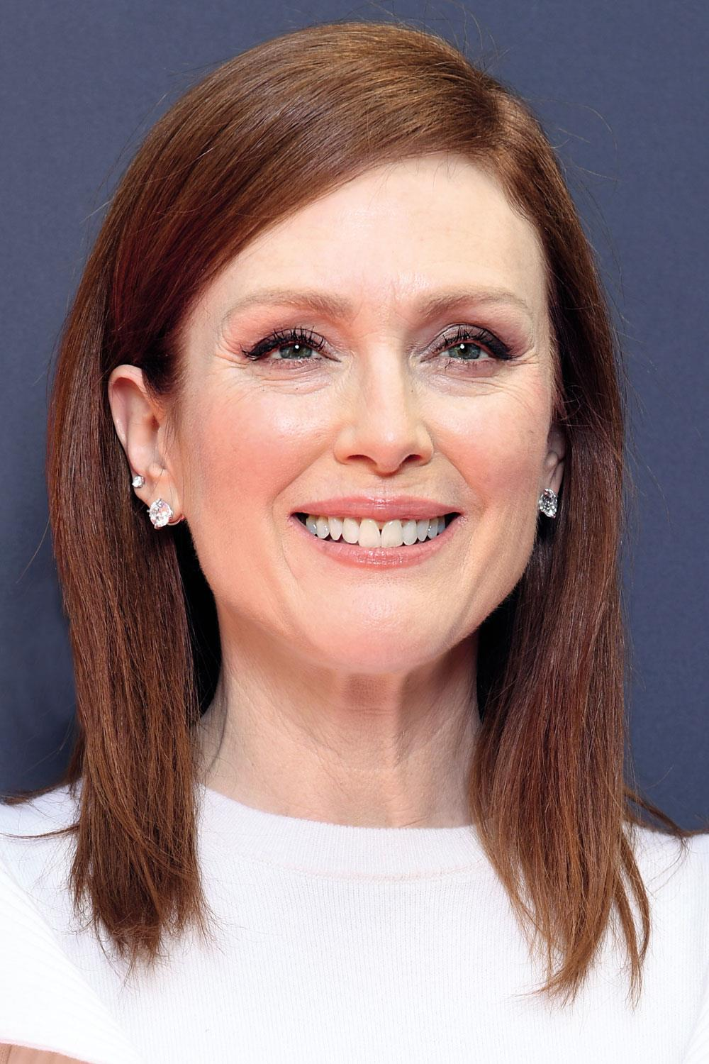 pelo celebrities Julianne Moore