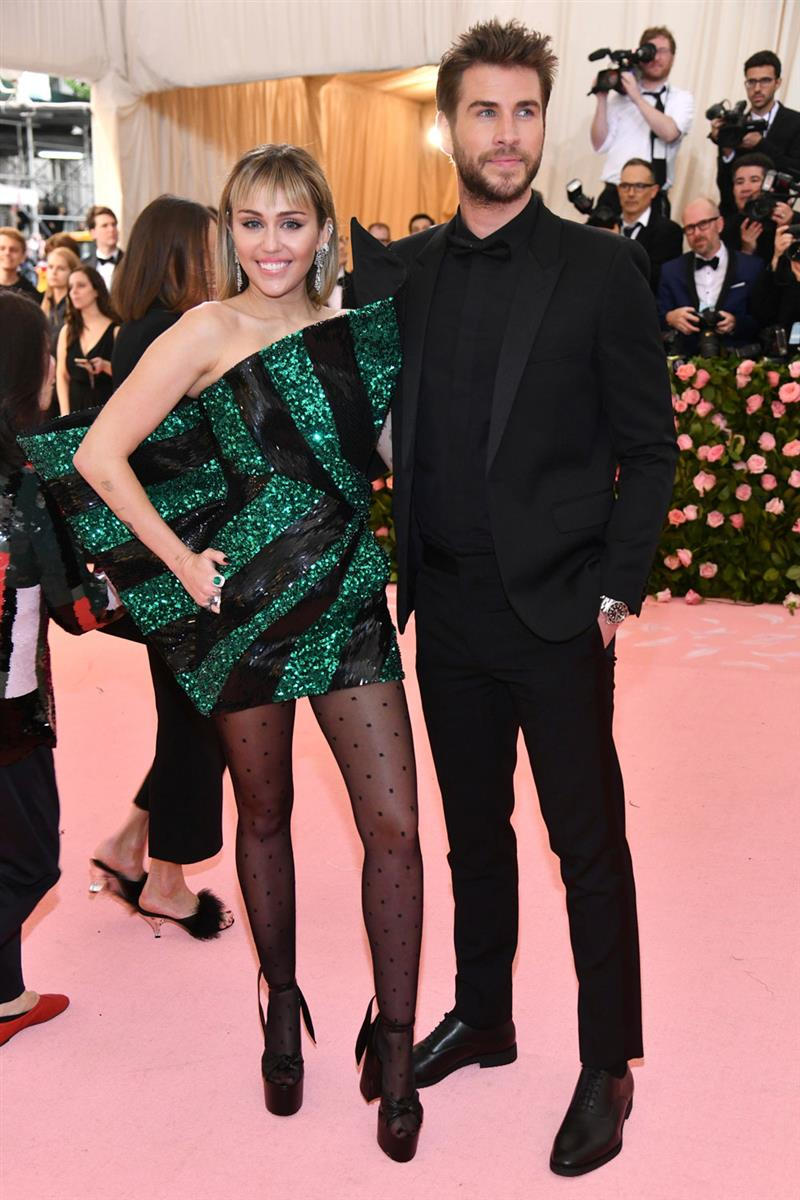 Miley Cyrus Liam Hemsworth Met Gala 2019