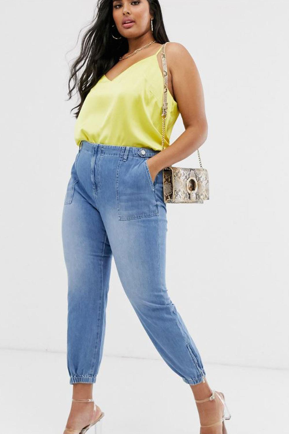 jeans baggy River Island Plus, 49,99€