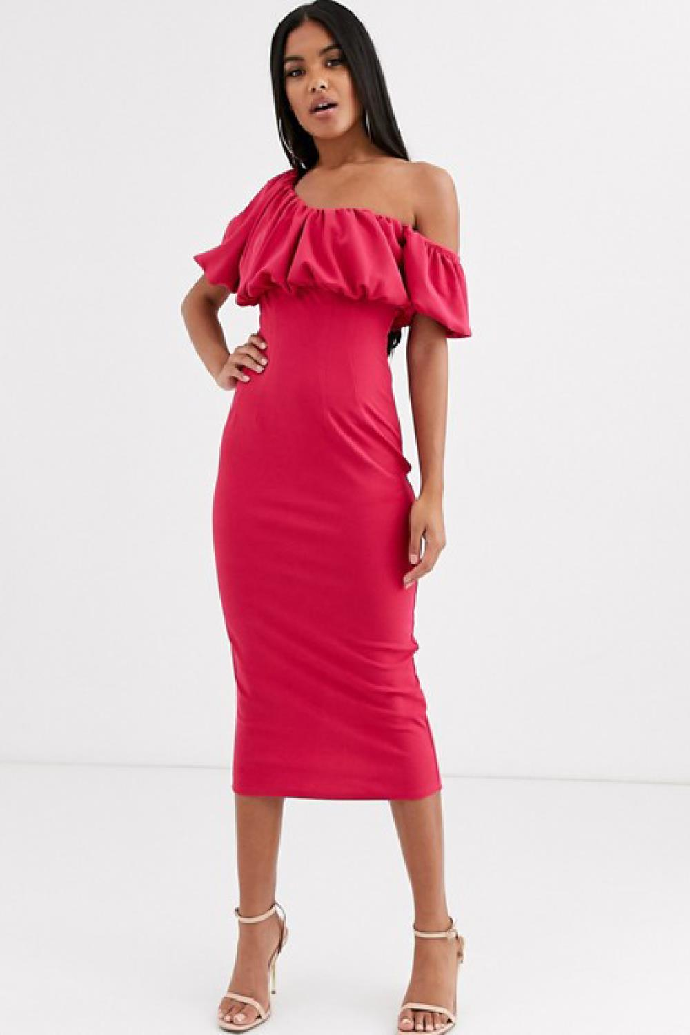 vestido invitada low cost asos 51,99€