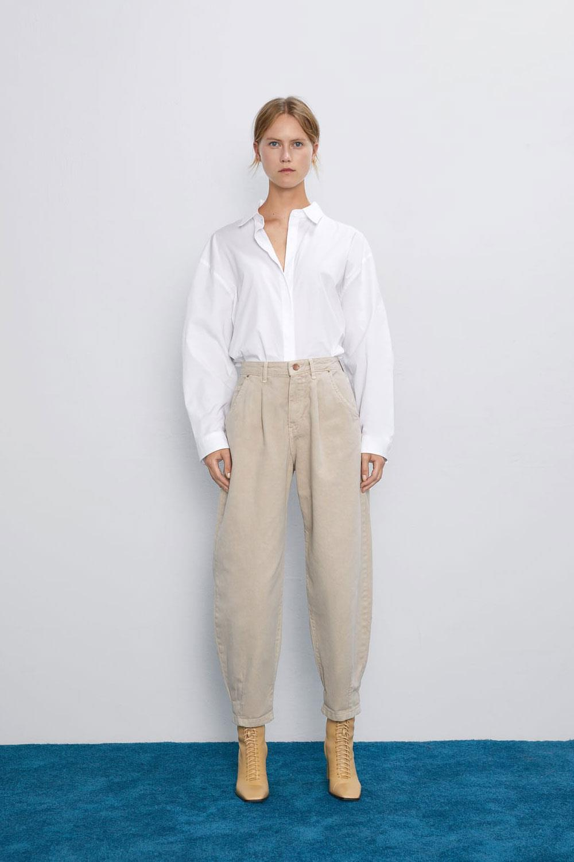 10 pantalones de Zara nuevos que no son nada ajustados y