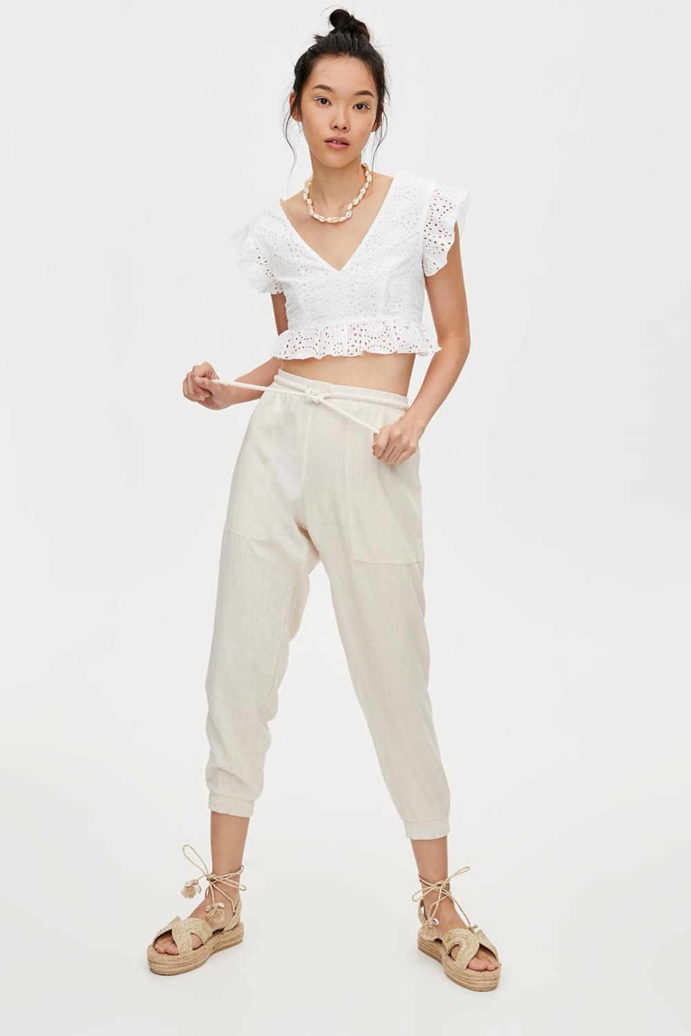 arethalagalleta look casual pantalon pull & bear 22,99€