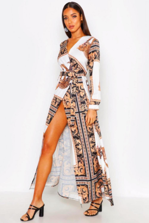 Este Vestido Largo Y Boho Cuesta 21 Y Sienta Muy Bien