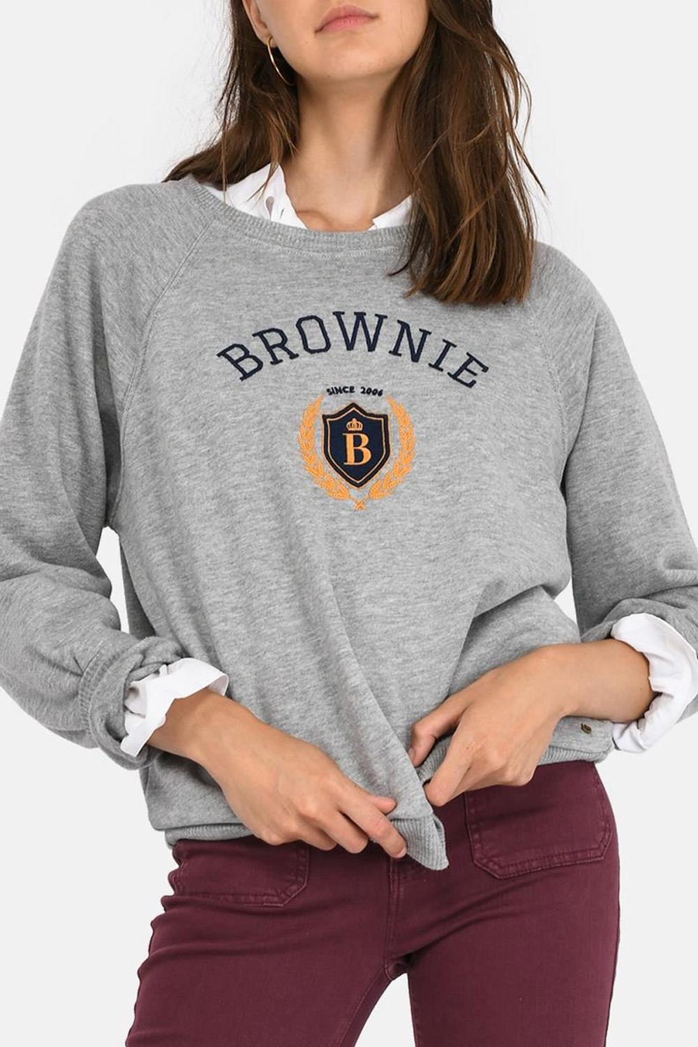 looks sudadera 21 buttons influencers Brownie, 35,90€