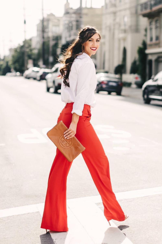 Como Combinar Un Pantalon Rojo Y Acertar Siempre