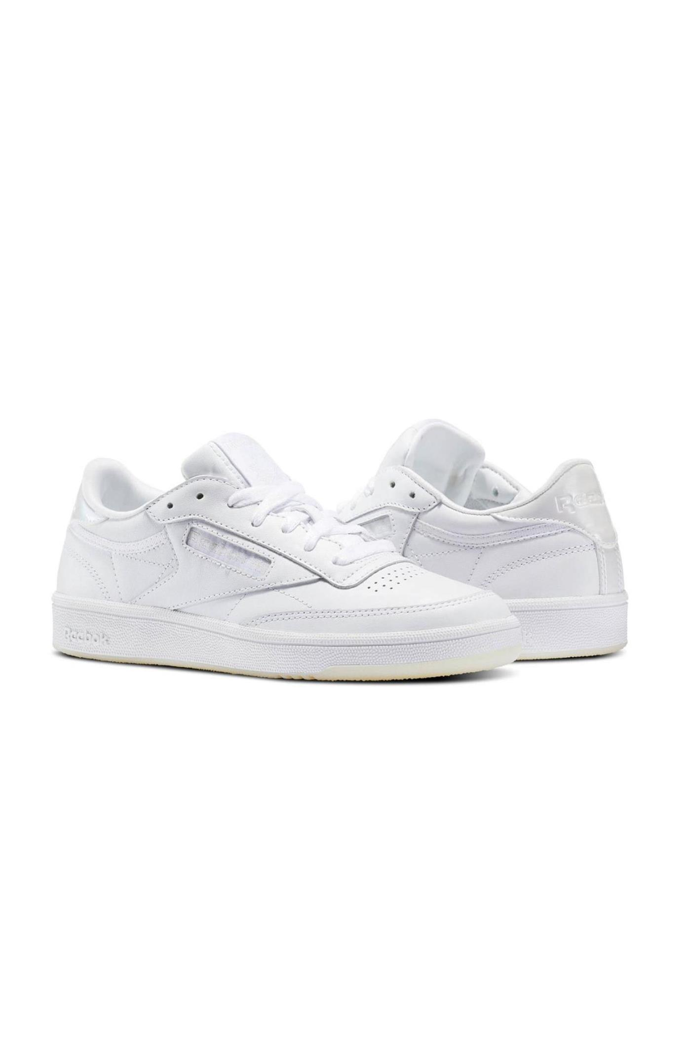 zapatillas blancas CLUB C 85 reebook