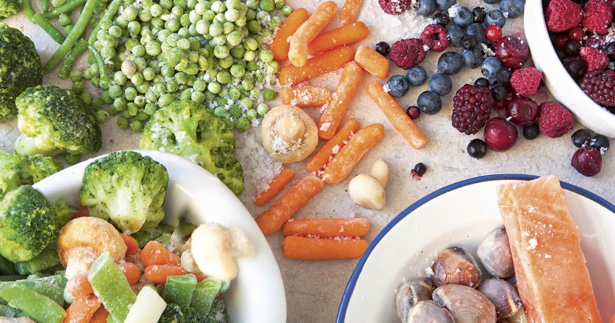 Alimentos Que Se Pueden Congelar Y Alimentos Que No