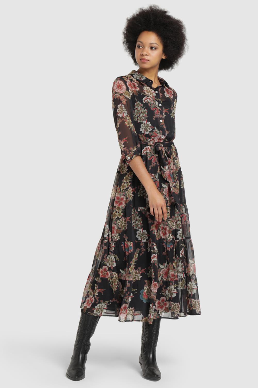 9 Vestidos De Flores Que Alegrarán Tus Día De Otoño