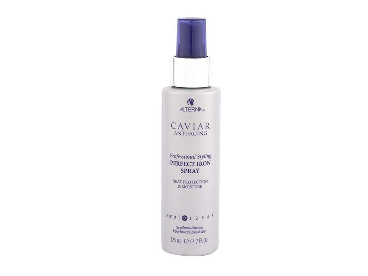 protector térmico calor plancha secador pelo Caviar Anti aging Styling Perfect iron spray de Alterna, 29,90€