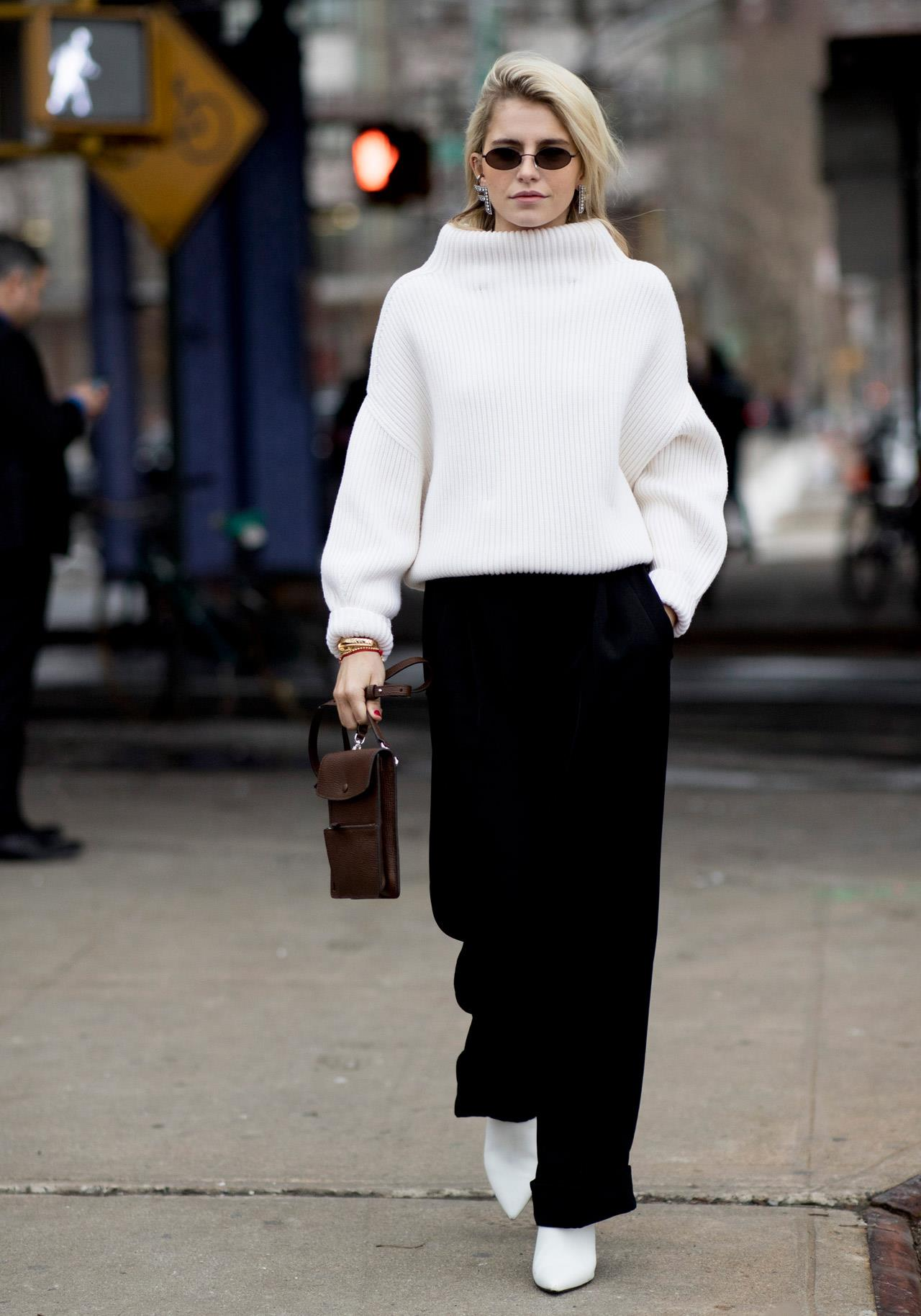 New-York-str-F19-086Looks con jersey: . Looks con jersey: