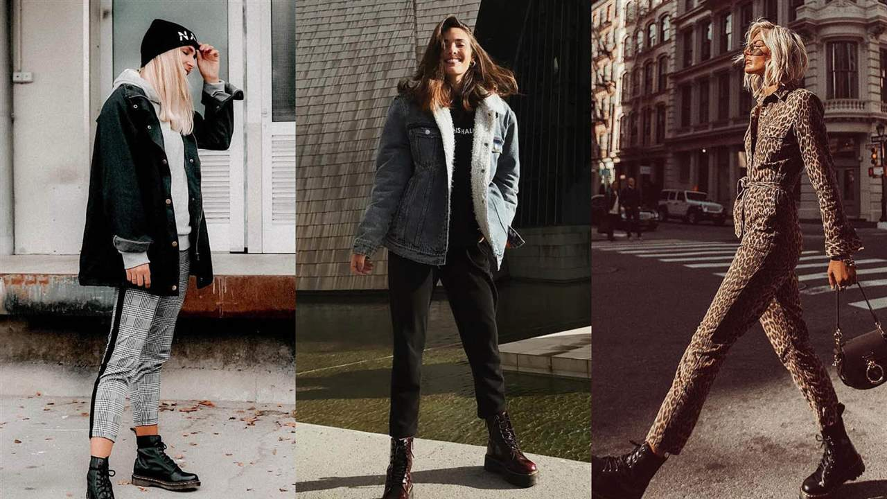 Looks con Dr. Martens: te las pondrás con TO-DO