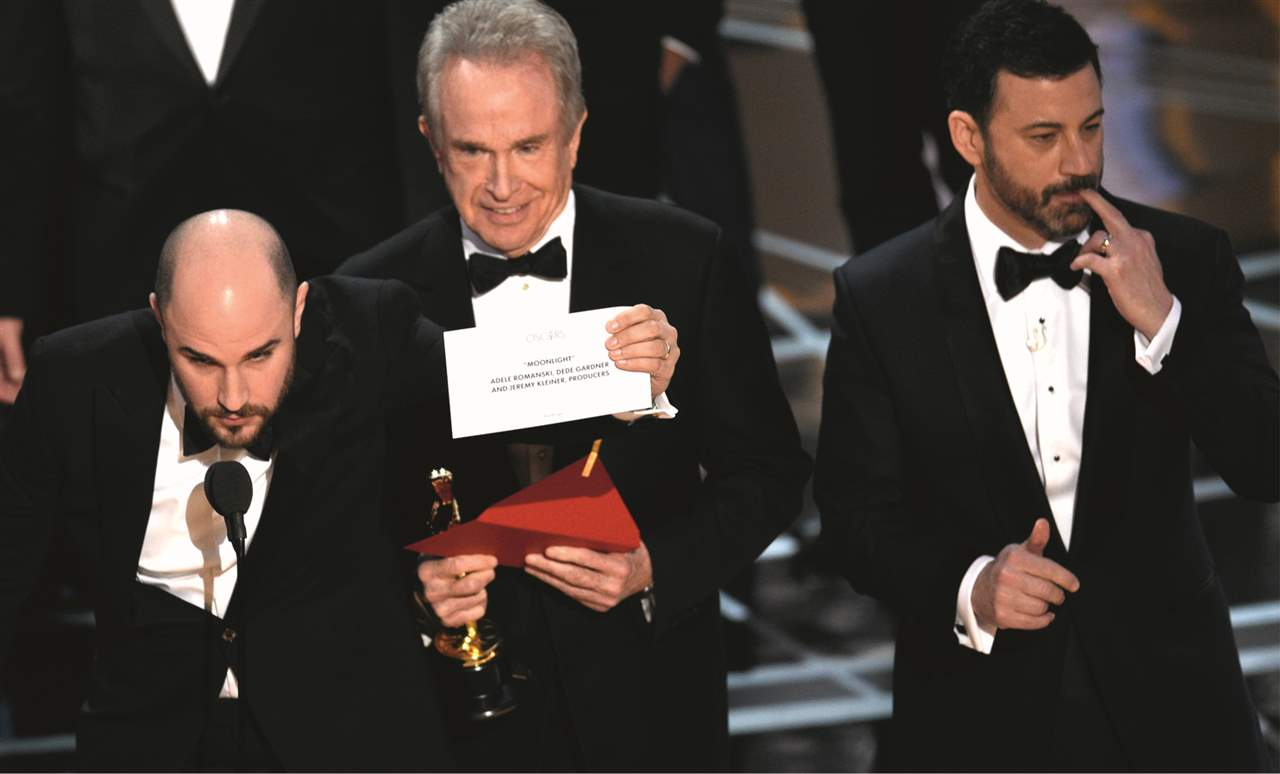 Oscar 2017 gran error warren beatty