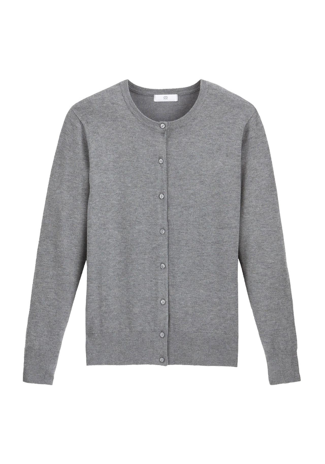 black-friday-la-redoute-cardigan-gris