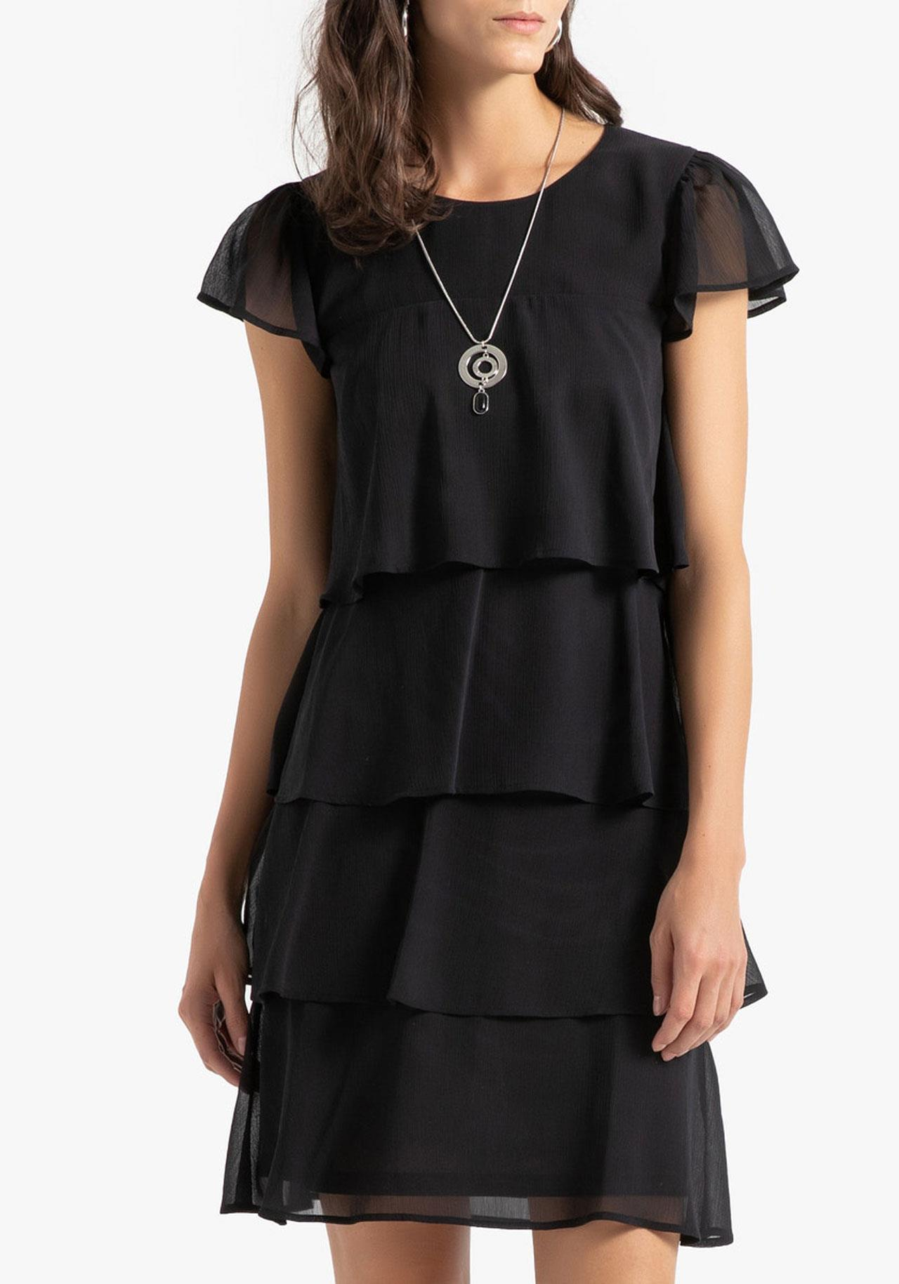 black-friday-la-redoute-vestido-negro