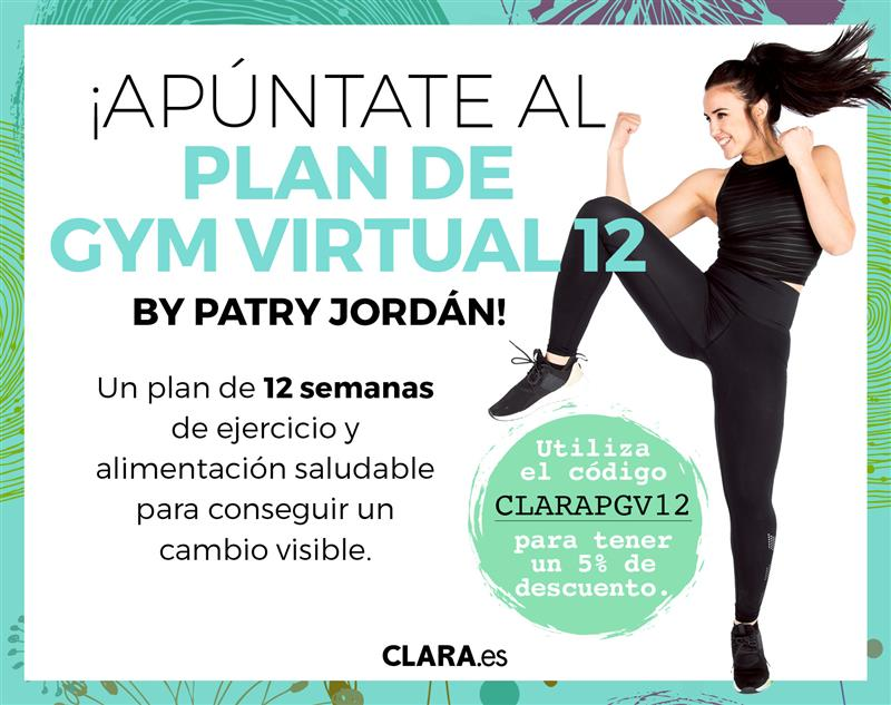 patry jordan plan gym virtual revista clara