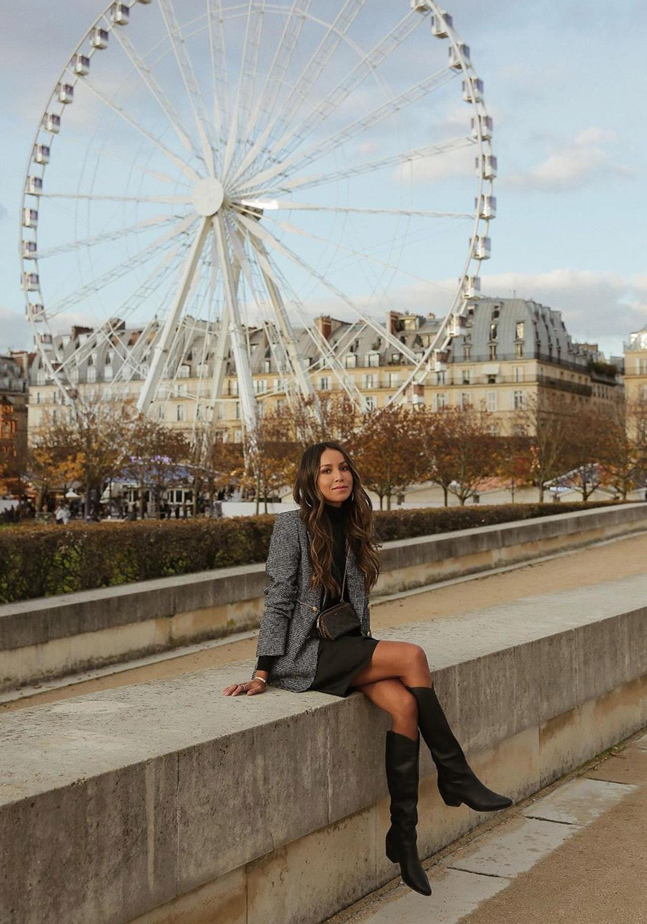 total look negro oficina streetstyle @sincerelyjules