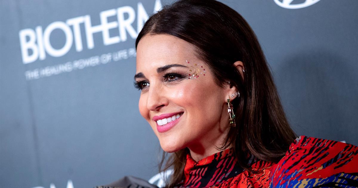 Paula Echevarria sorprende con el maquillaje más extremado para estas fiestas