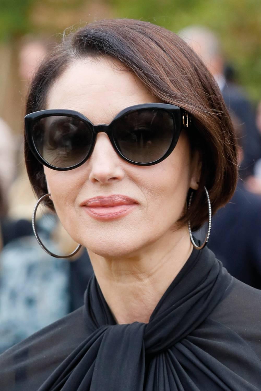 Corte de pelo famosas 50 años Monica Bellucci corto