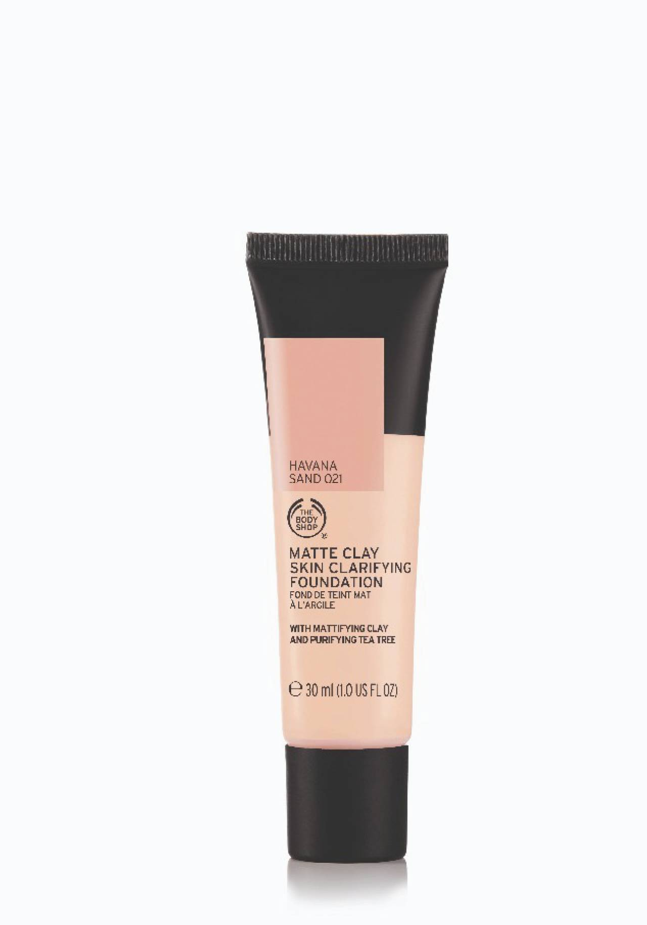 Base de maquillaje Matte Clay Skin Clarifying Foundation The Body Shop
