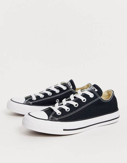 Zapatillas negras Chuck Taylor All Star Ox de Converse