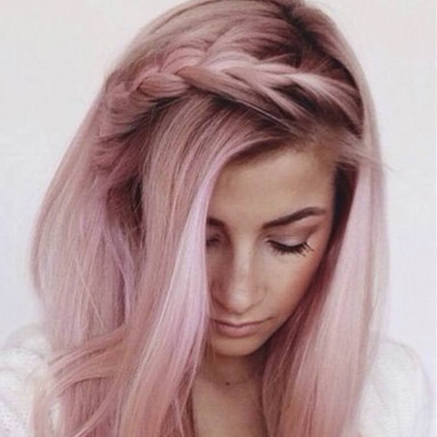 Este color de pelo no lo habíamos visto venir: Dusty Pastel Hair