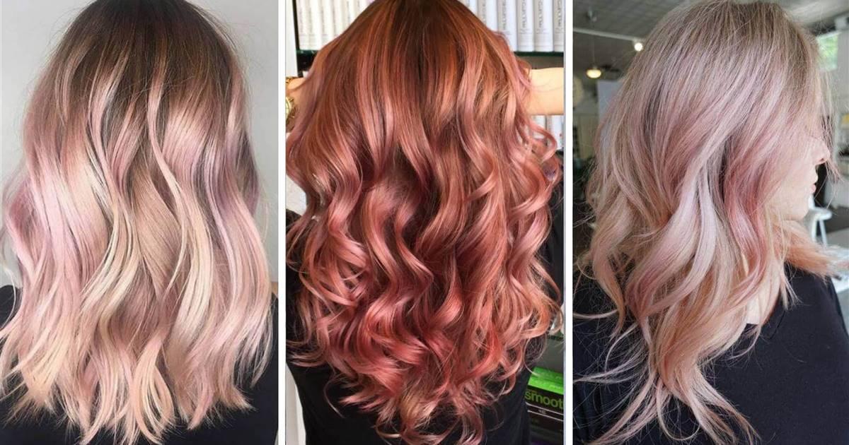Rose gold: el moderno color de pelo que queda bien a rubias y morenas