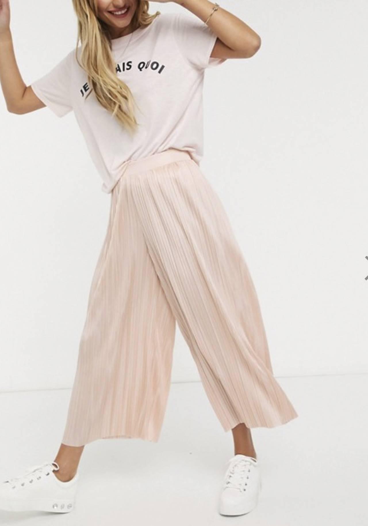 Bershka Asos Springfield Zara Pantalones Cero Ajustados Para El Verano