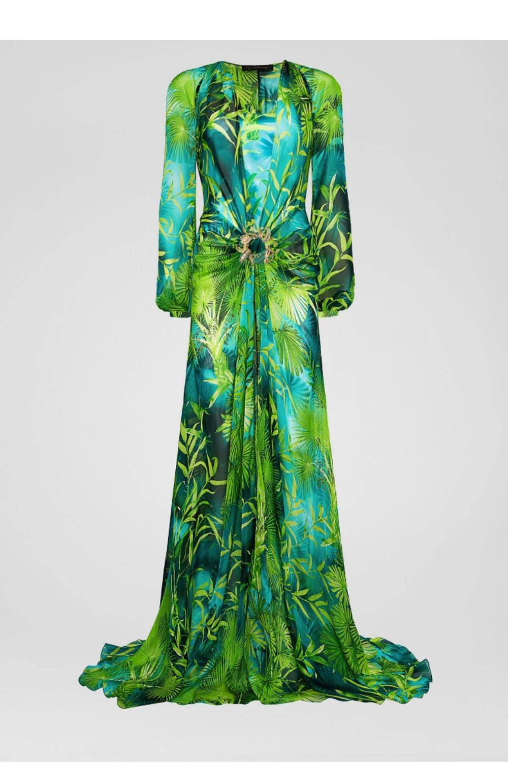 The jungle dress de Versace