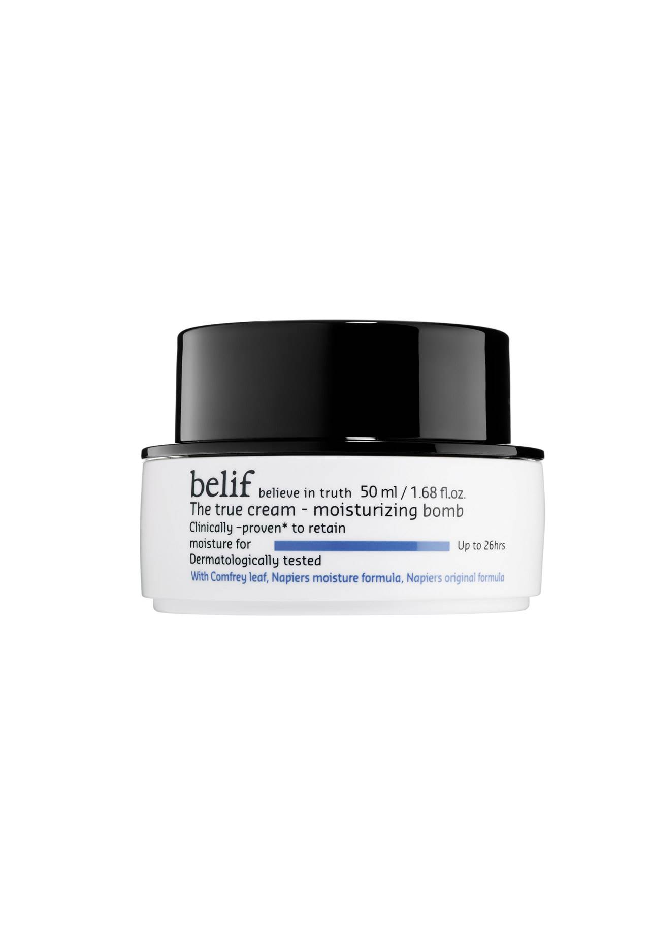 cosméticos sephora baratos The True Cream Moisturizing Bomb de Belif, 34,95€