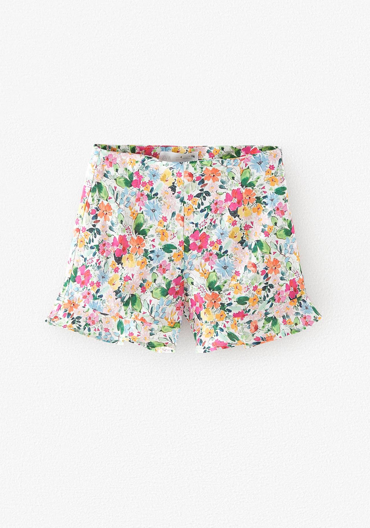 zara kids bajitas short