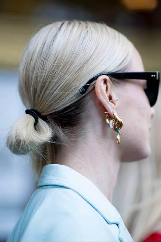 Extremadamente atractivo peinados recogidos pelo corto Colección de tendencias de color de pelo - Recogidos para pelo corto que puedes hacerte tú misma