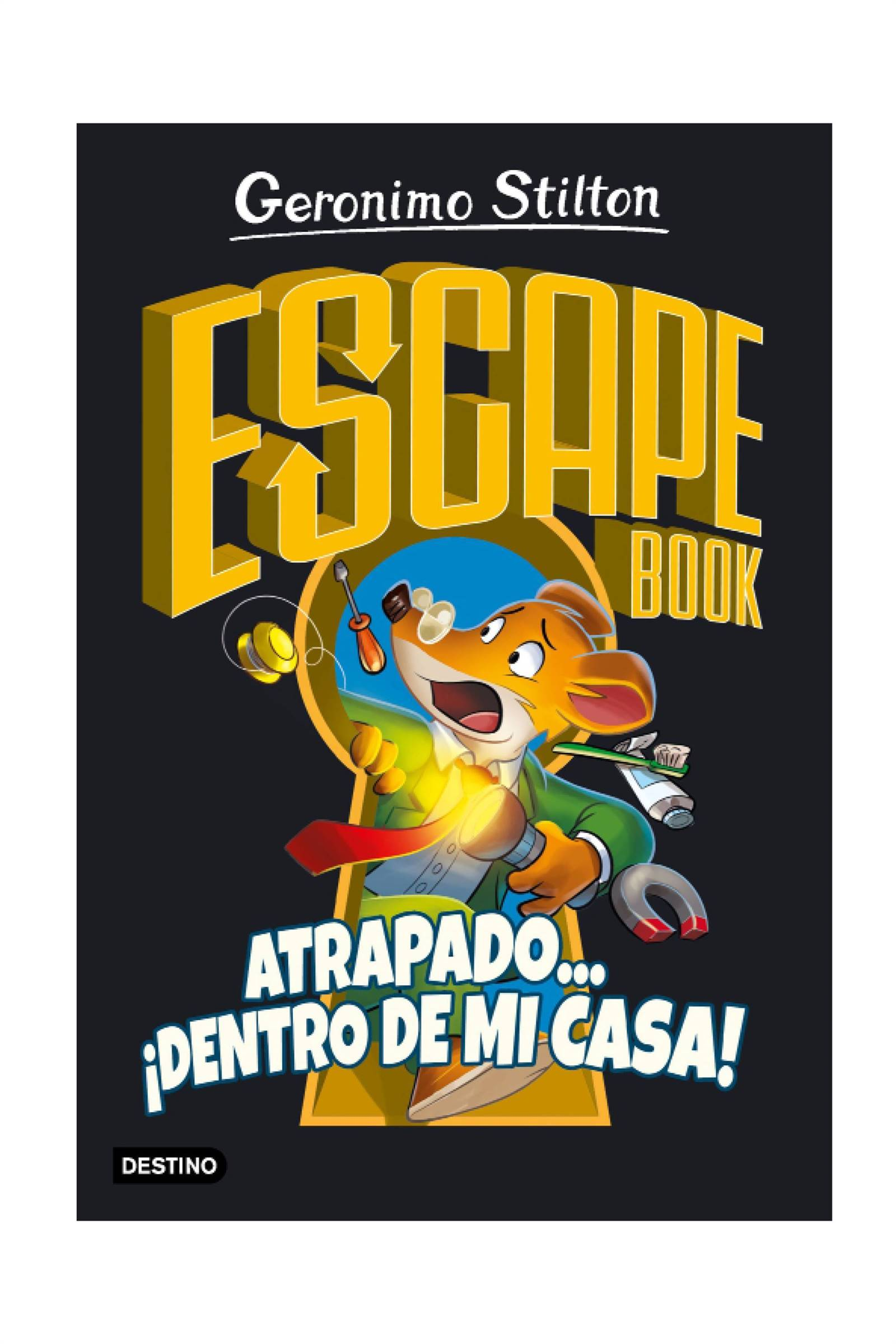 Escape book. Atrapado ¡dentro de mi casa! De Geronimo Stilton