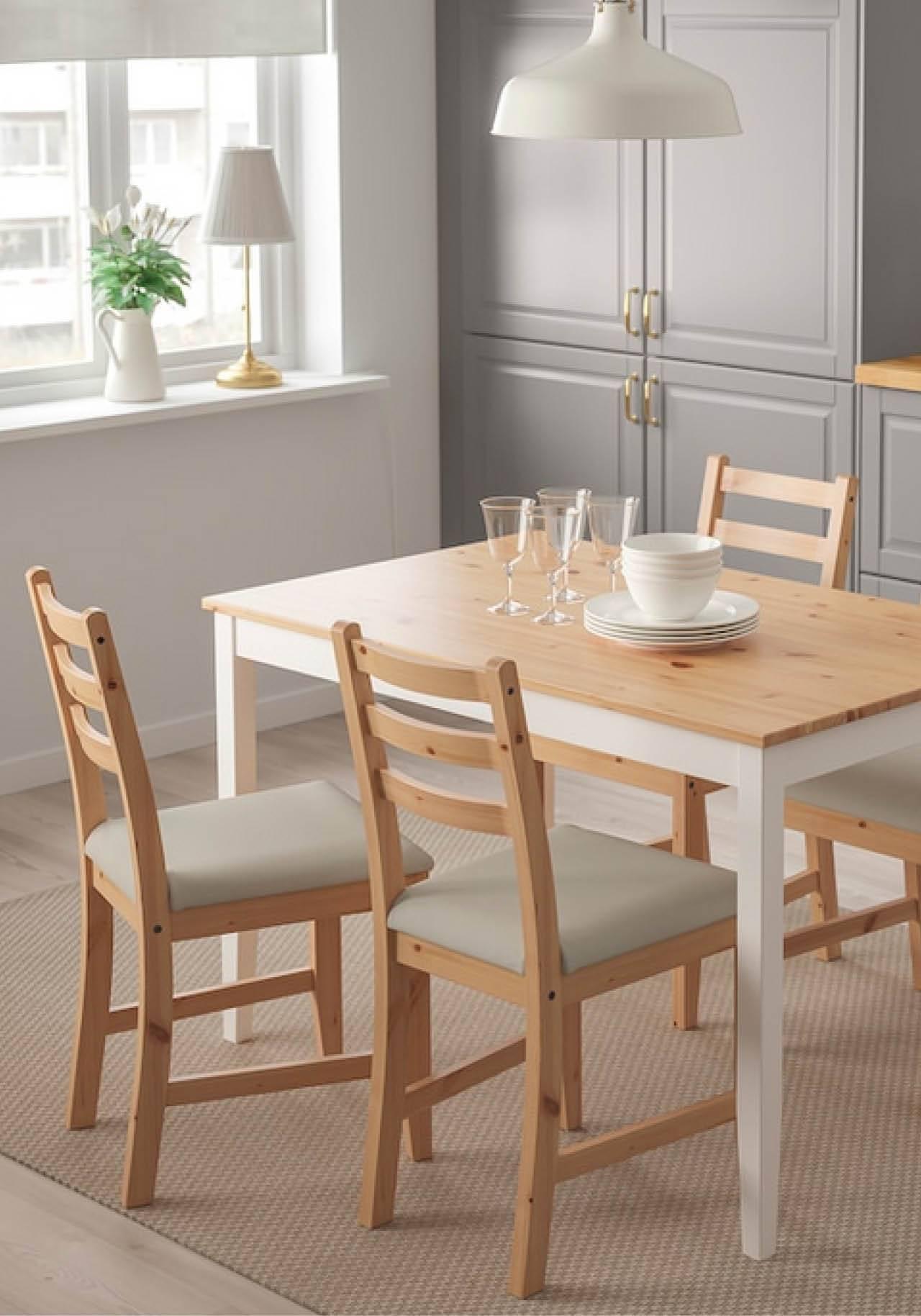 mesa estilo nordico ikea