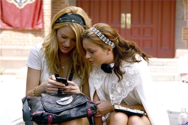 gossip girl adiccion al movil
