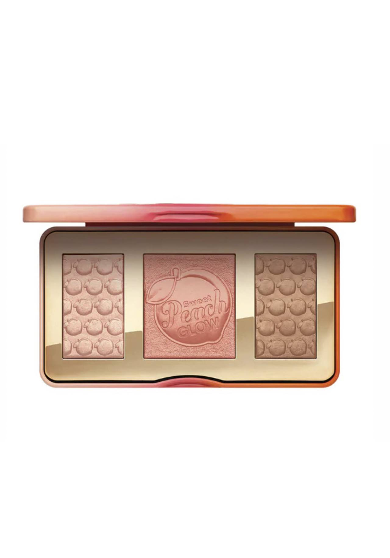 Paleta Sweet Peach Glow de Too Faced