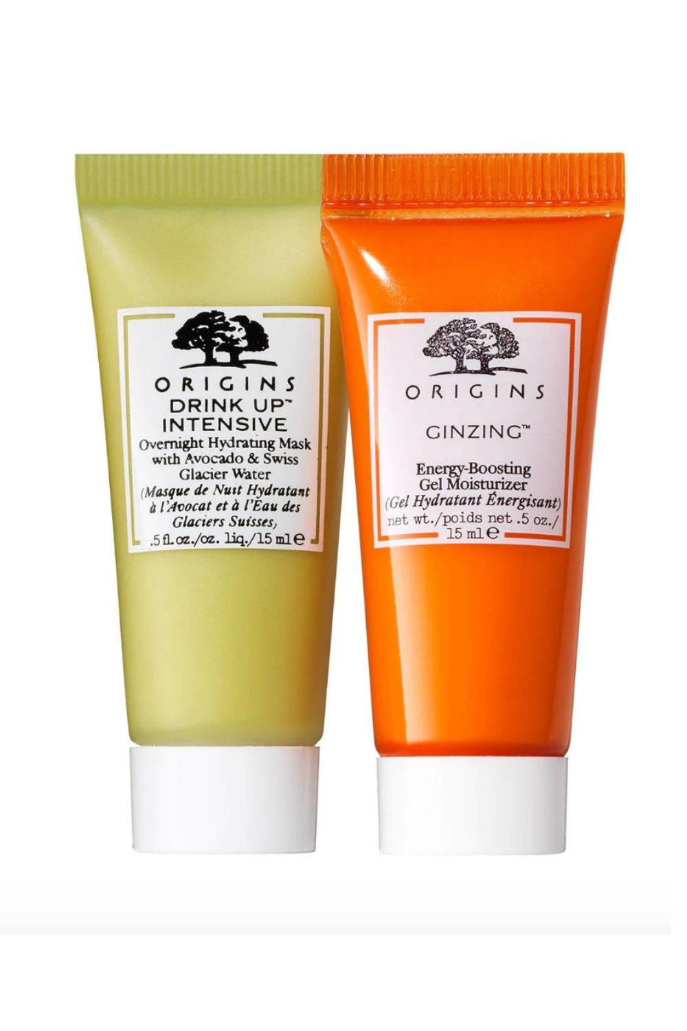 Set de mascarilla & gel de Origins