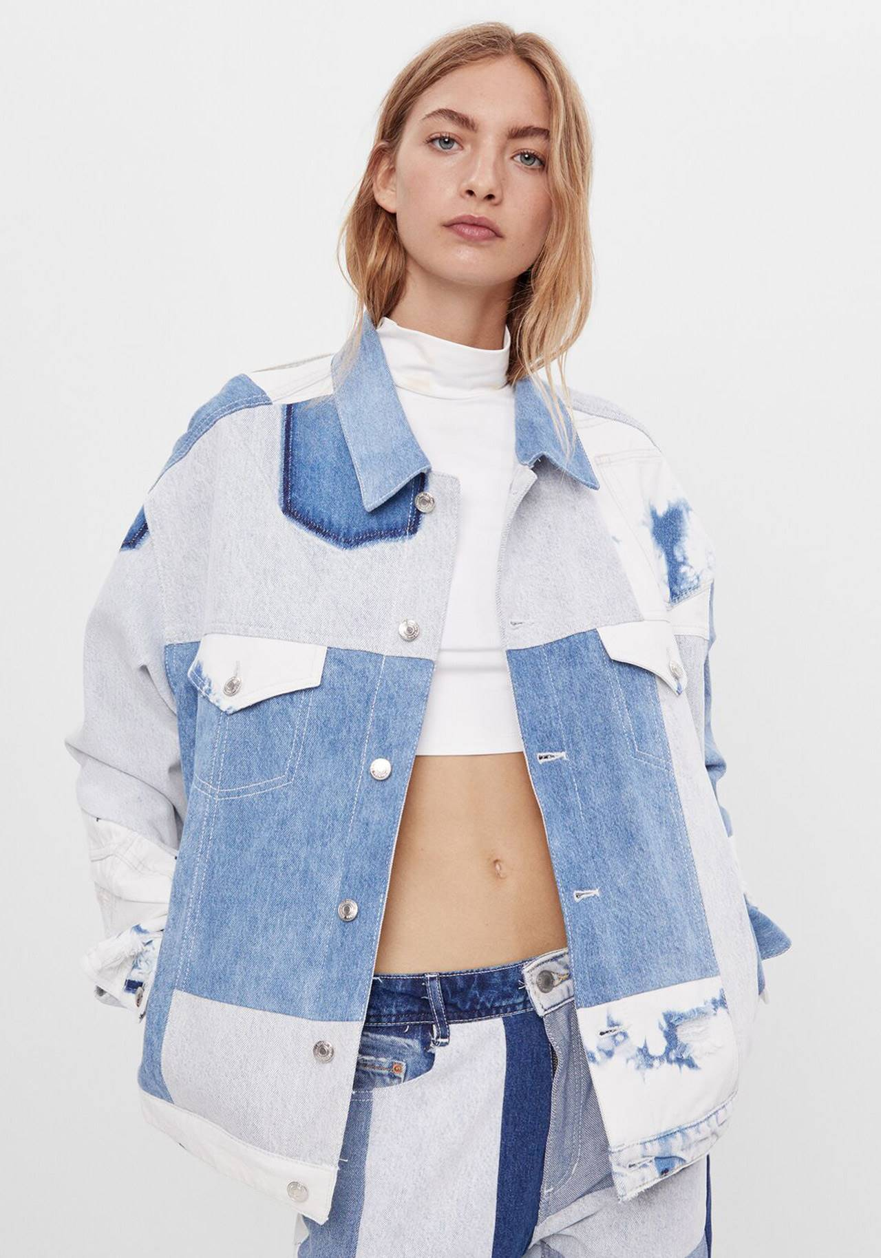 hack denim bershka
