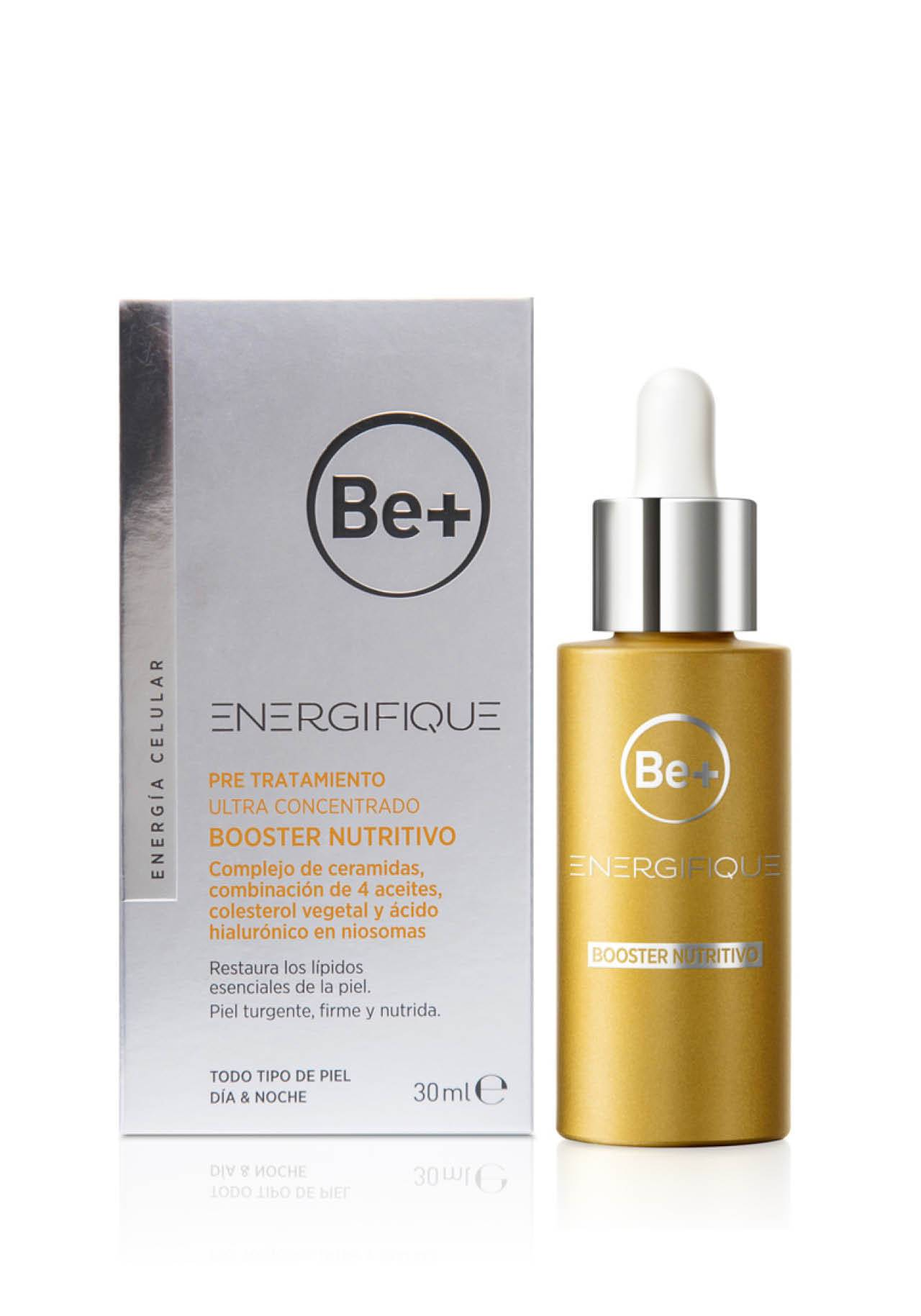 Cosmética booster Ultraconcentrado Boooster Nutritivo Energifique de Be+.