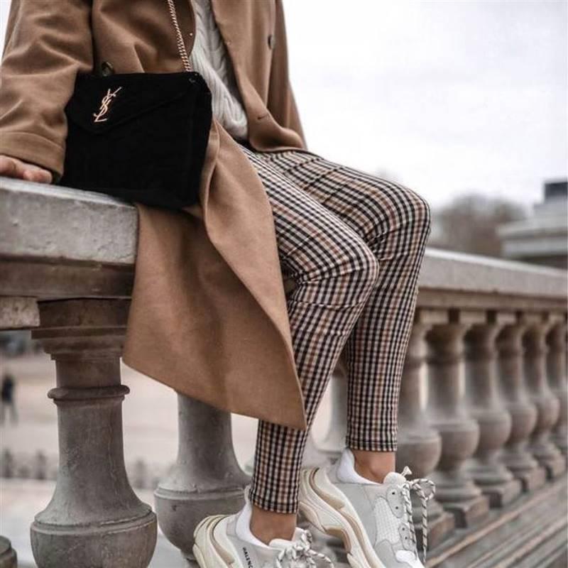 Copia El Look Jersey Y Pantalon De Cuadros El Uniforme De La Temporada