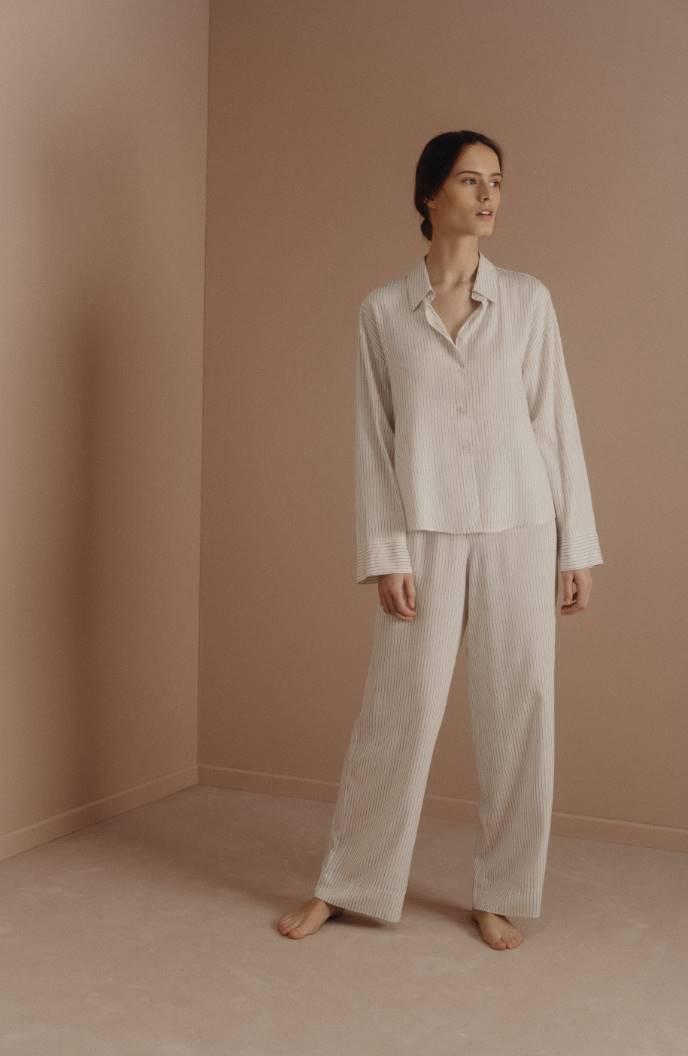 Pijama de rayas