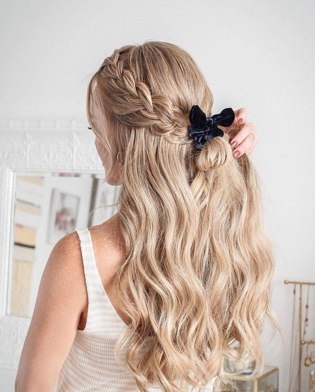 hairstyles-new years-semi-collected