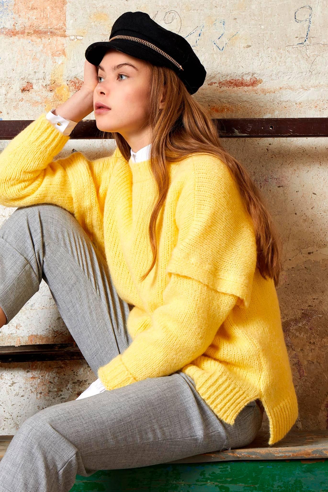 yellow-jersey-knit