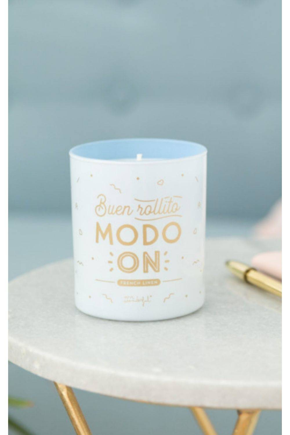 Mr Wonderfull candle