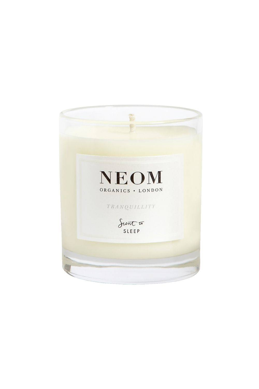NEOM Perfect Night's Sleep Basil, Jasmine & Lavender Scented Travel Sleeping Candle